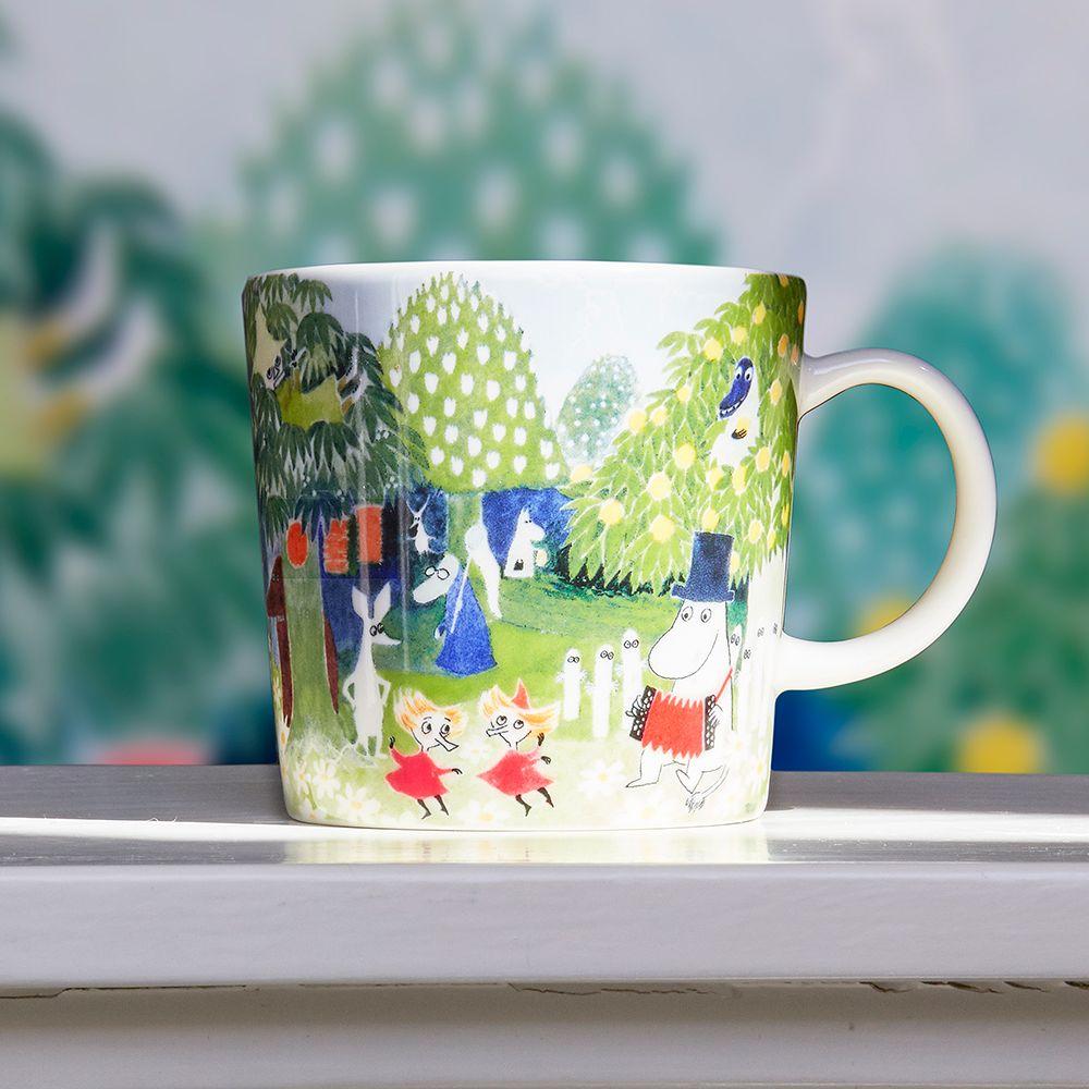 Arabia Moomin mug, Moominvalley