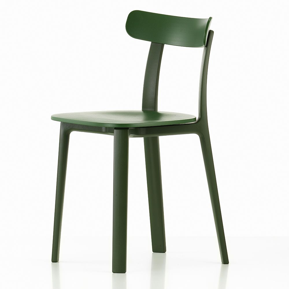 Vitra All Plastic Chair in ivy