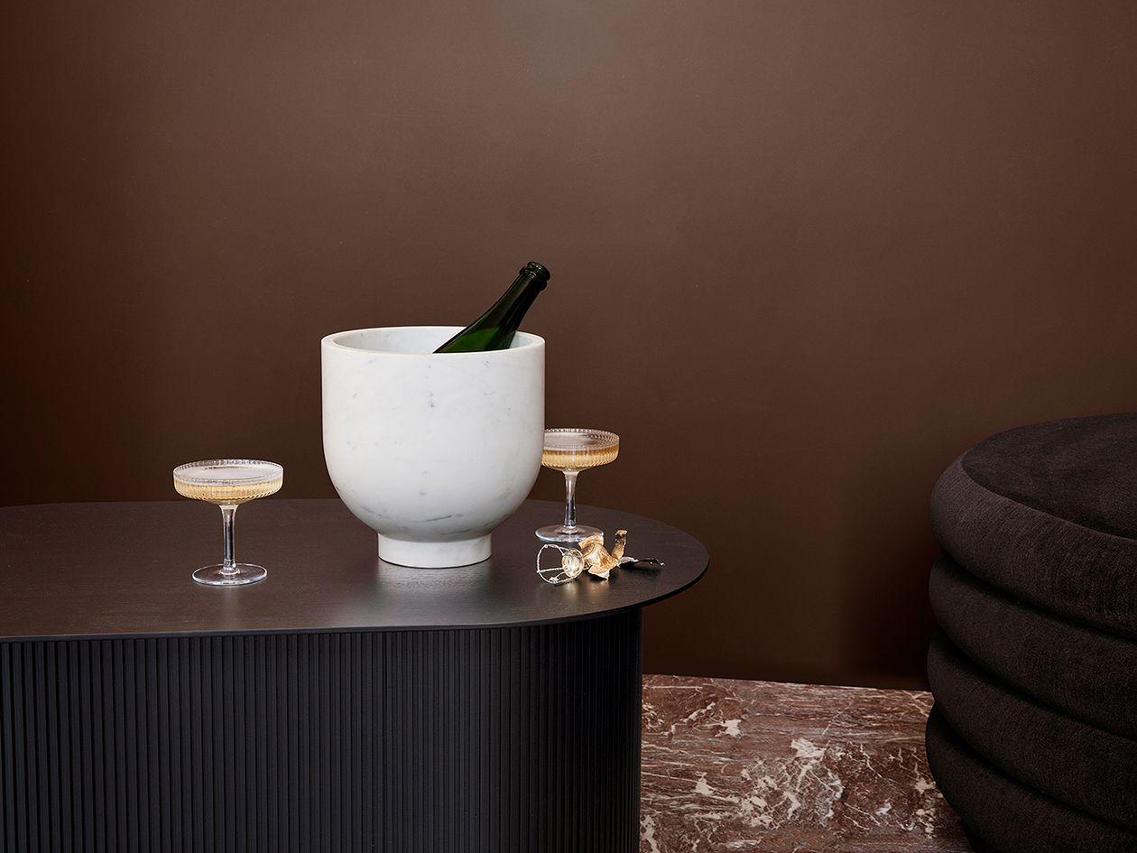 Ferm Living's Alza champagne cooler