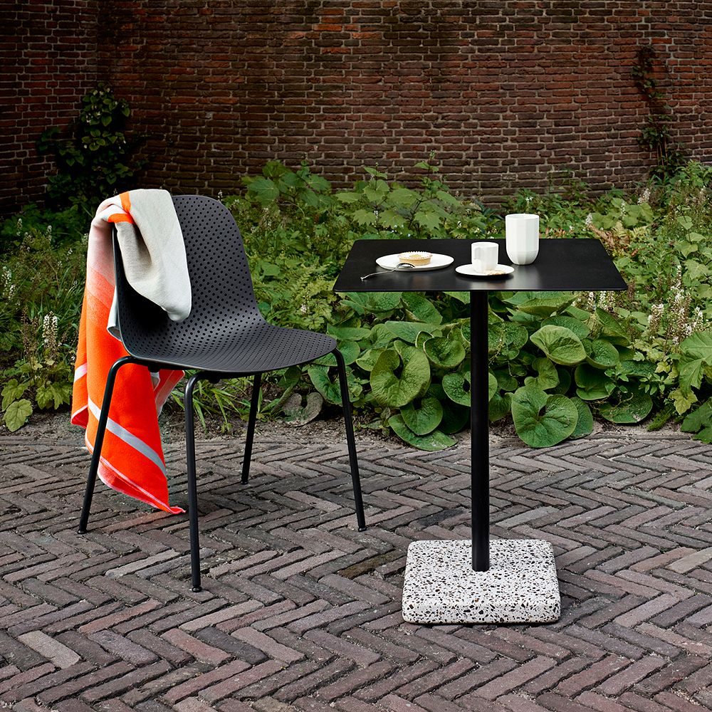 Hay's 13Eighty chair and Terrazzo table