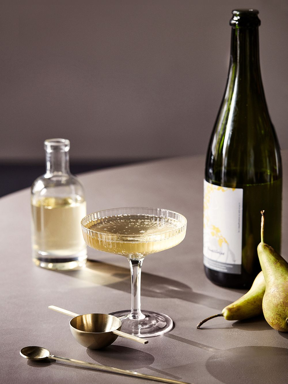 Ferm Living Ripple champagne saucer