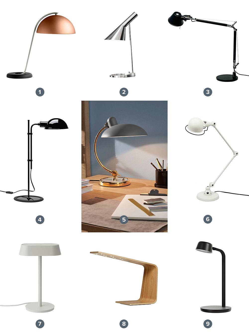 Table lamps at Finnish Design Shop