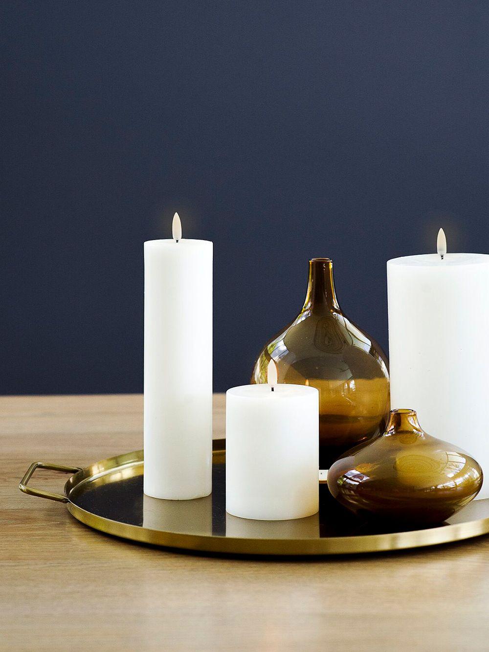 Flameless LED candles by Uyuni