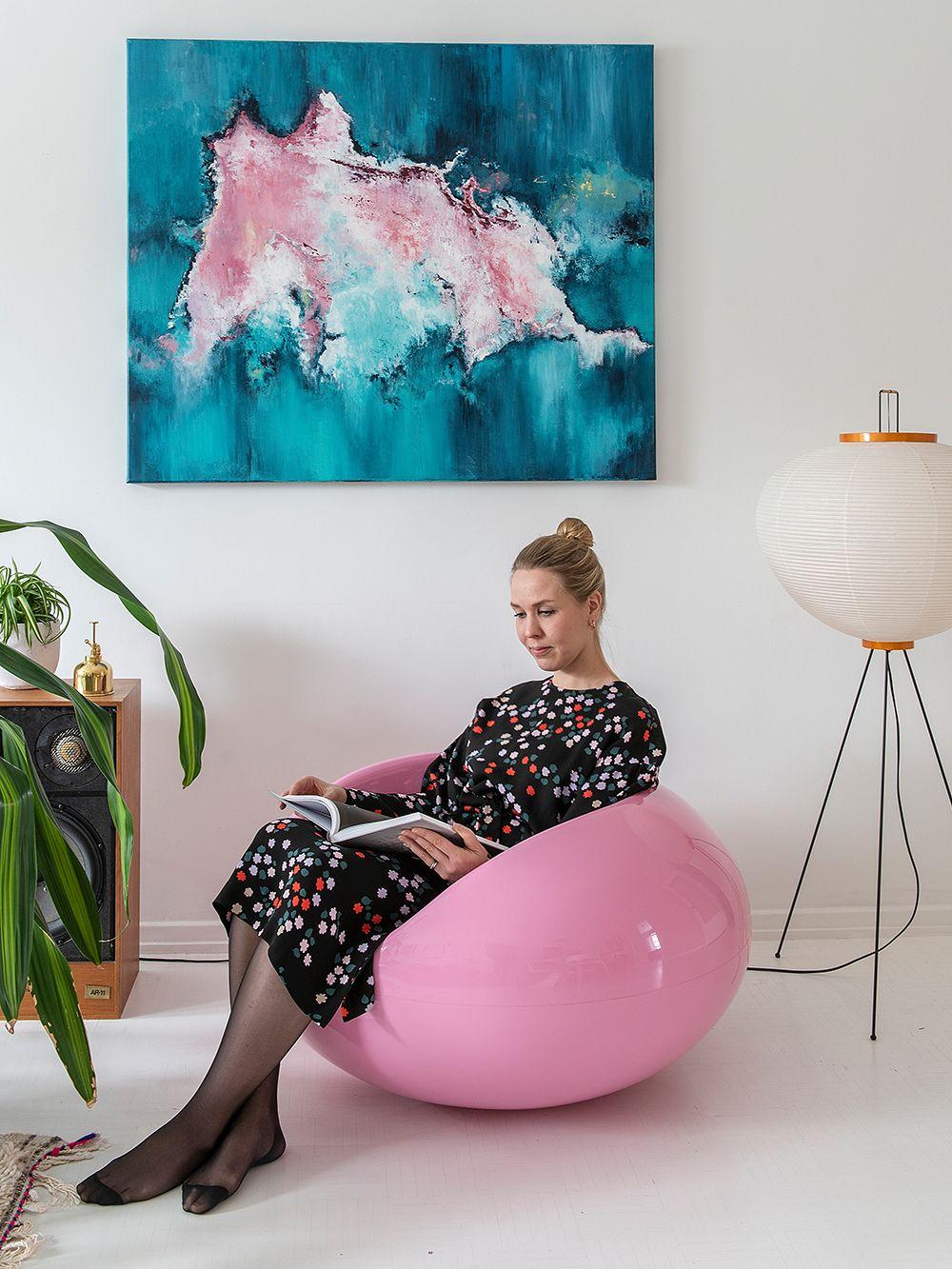 Eero Aarnio Originals  Pastil Chair, white