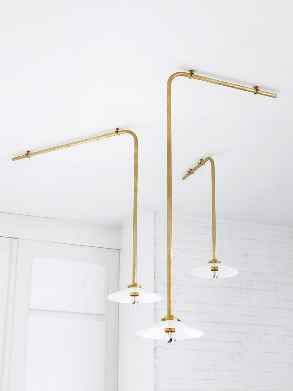 Valerie Objects Ceiling Lamps in brass