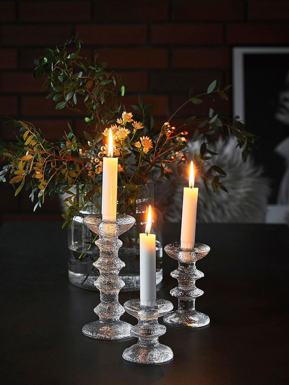 Festivo candleholders by Timo Sarpaneva