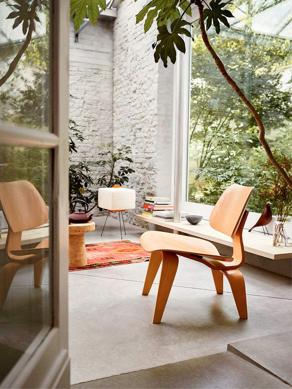 Vitra Plywood Group LCW lounge chair in ash