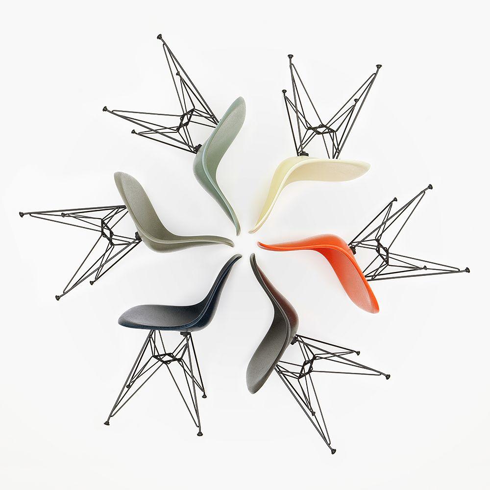 Vitra Eames Fiberglass Chairs