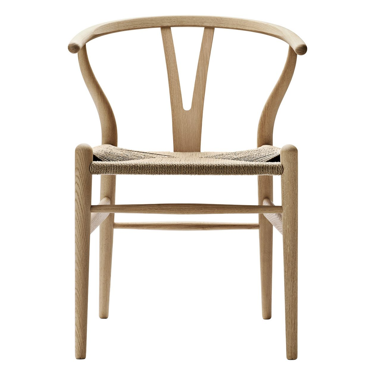 Carl Hansen & Søn CH24 Wishbone chair, soaped oak - natural cord