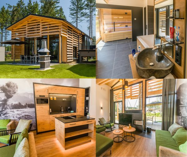 Exclusive cottage in Park Allgäu