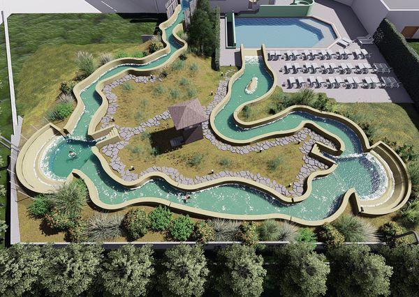 Vernieuwde Aqua Mundo in Park De Haan (B)