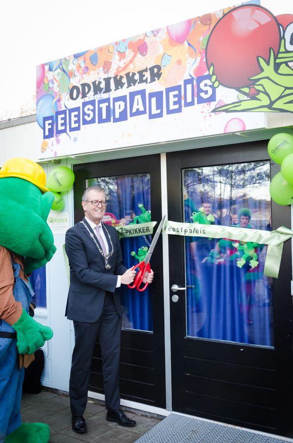 Opening Opkikkerland Feestpaleis Burgemeester
