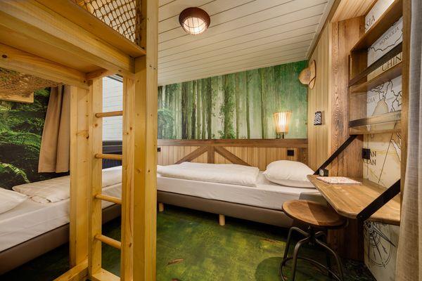 Avontuurlijk overnachten in nieuwe thema-cottages in Het Heijderbos