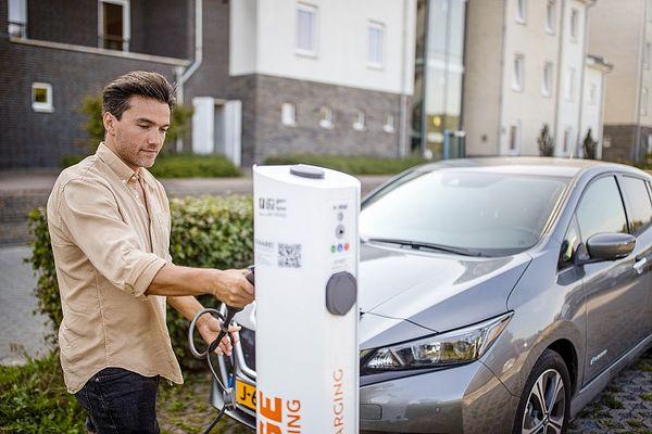 Oplaadpunt voor elektrische auto's