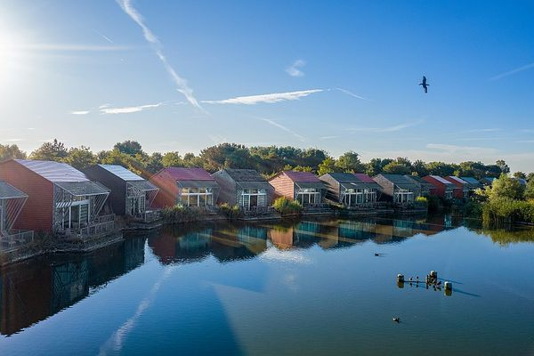 Aan de kust genieten, in Center Parcs Park De Haan (B)