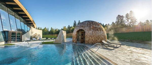 Foto's van de nieuwe spa Deep Nature® in Trois Forêts