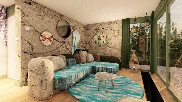 Nieuwe gethematiseerde cottages in De Huttenheugte en De Vossemeren