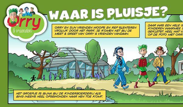 Orry-Comic ''Waar is Pluisje?''  - Deel 1