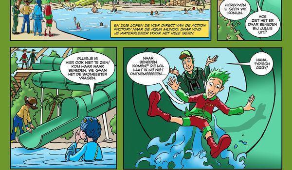 """Orry-Comic """"Waar is pluisje"""" - Deel 3"""