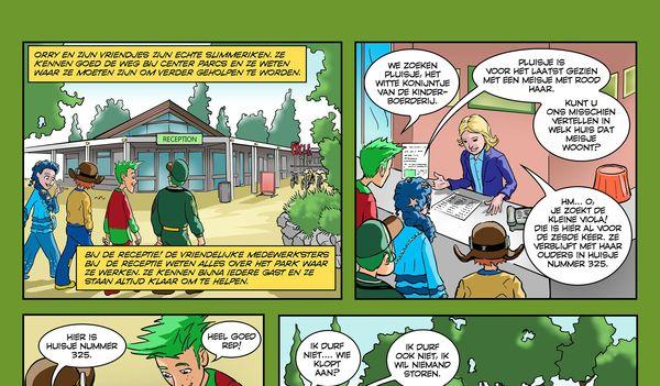 """Orry-Comic """"Waar is Pluisje"""" - Deel 4"""