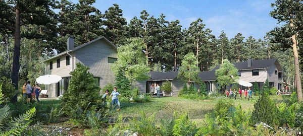 Park Allgäu: De eerste cottages zijn gebouwd