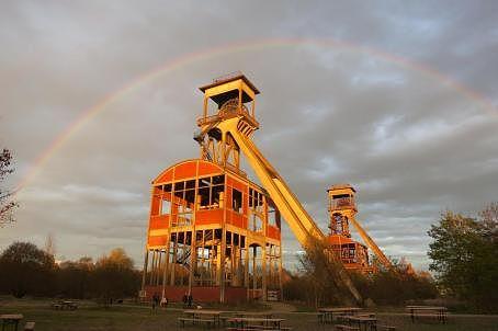 Schachtbok regenboog