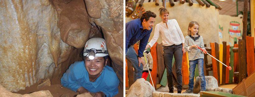 Speleo Tunnel & Interactieve Indoor Minigolf