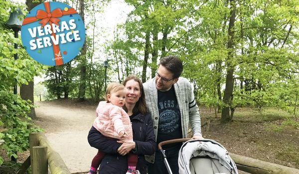 Verras-service: Angela verrast voor Moederdag