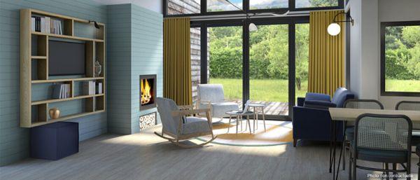 BINNENKORT: de vernieuwde VIP Wood cottage in Les Hauts de Bruyères!