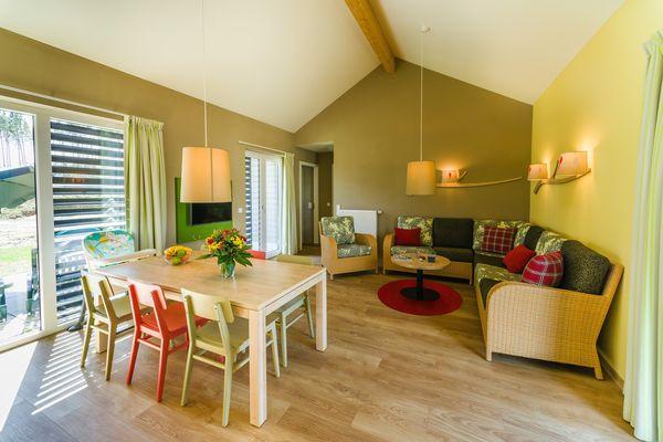 De eerste foto's: Comfort cottages in Park Allgäu (D)