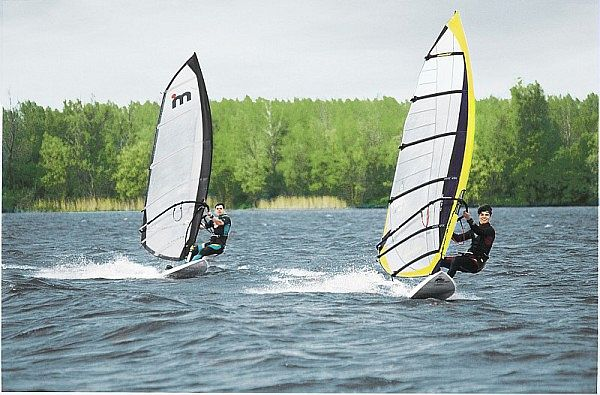 Kempervennen Center Parcs Windsurfen Surfen