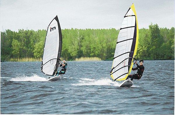 Kempervennen Center Parcs Windsurfen Surfen