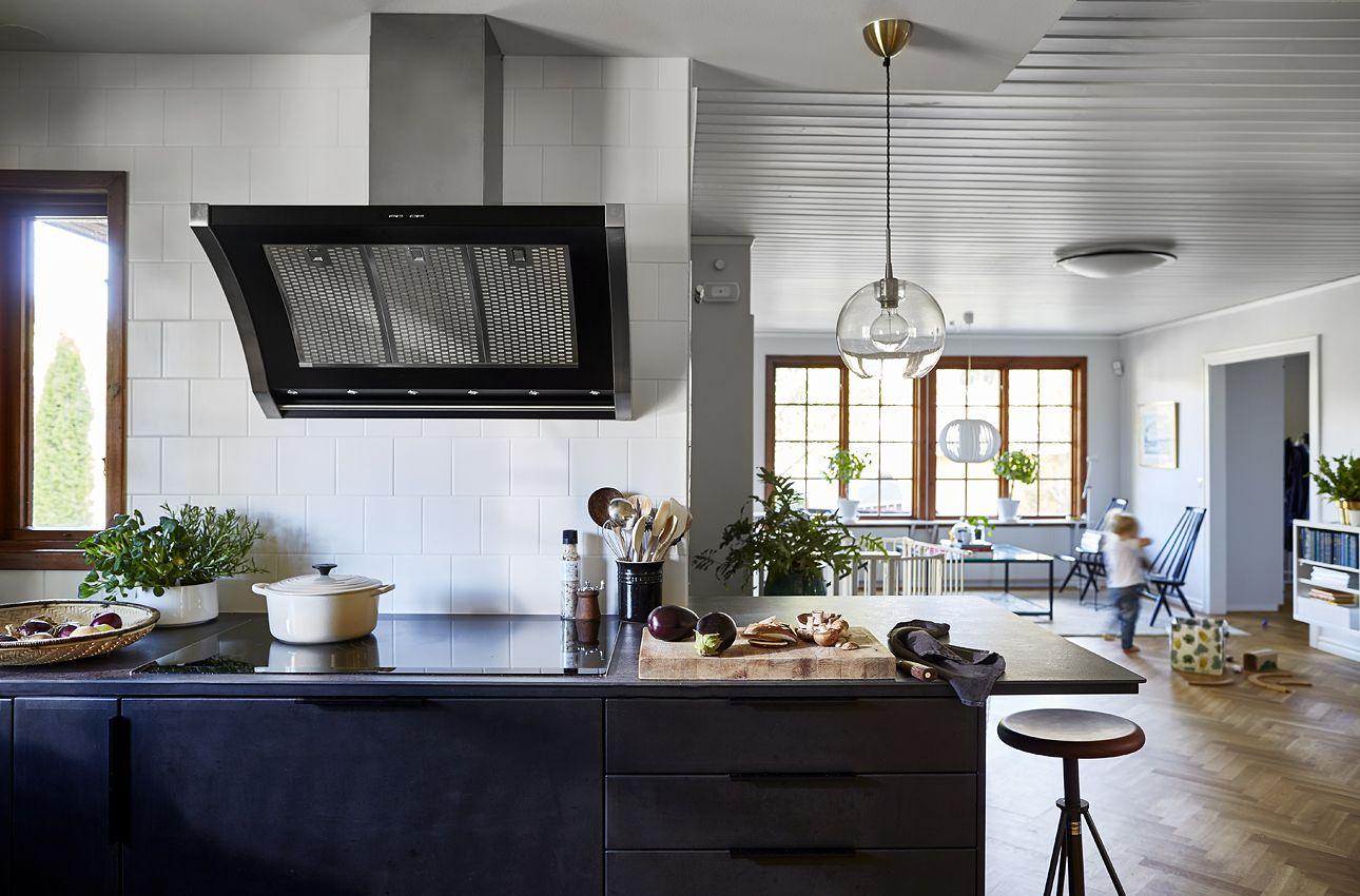 Luftigt och rejäla doningar i proffskockens nya kök