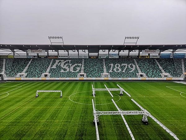 Hopp St. Gallä! Eines unserer Projekte: Für unseren langjährigen Kunden FC St.Gallen erneuern wir das WLAN im Stadion. . . . #swisspro#swissprogroup#bewirbdichjetzt#work#Elektroinstallationen#ICT#BCT#Zurich#Switzerland#18Standorte#joinourteam#FCStGallen#StGallen#WLAN#Stadion