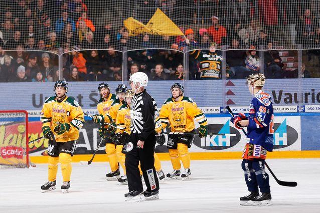 Juho Liuksiala iski paikalliskamppailussa kaksi täysosumaa. Kuva: Jukka Rautio / Europhoto