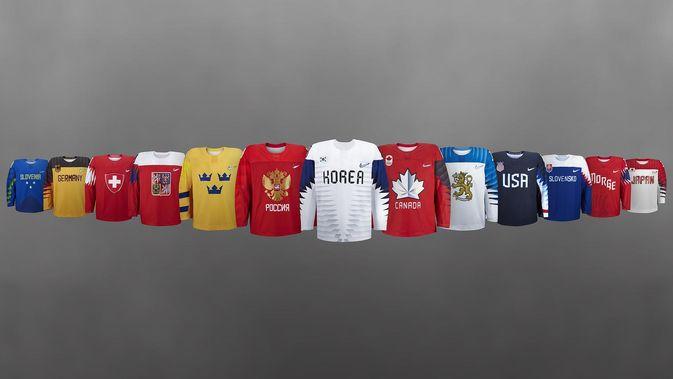 Myös muiden maiden peliasuja on julkaistu. Kuva: Nike