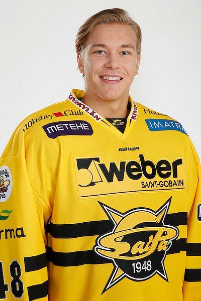 Joona Jääskeläinen edusti kaudella 2016-17 SaiPaa.