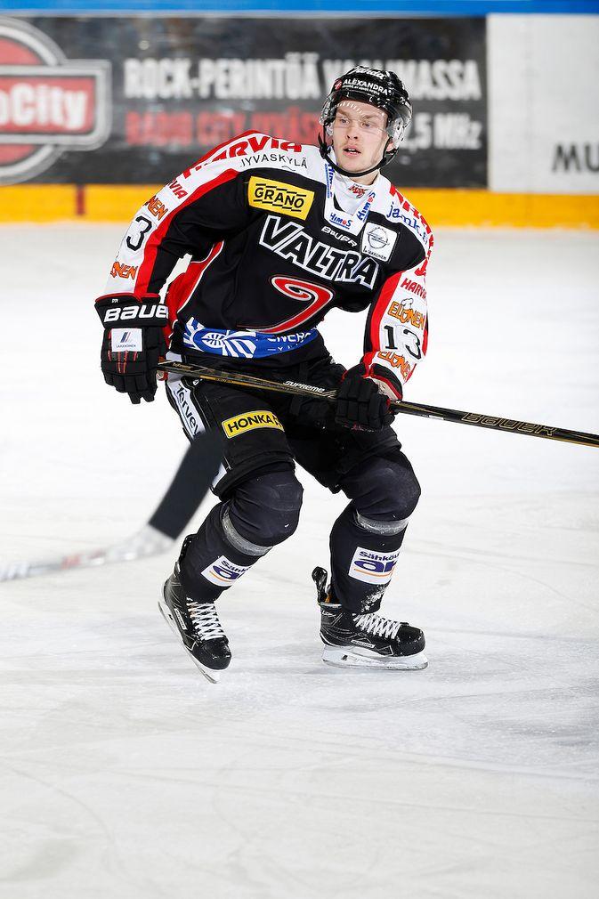 Urho Vaakanainen pelasi menneellä kaudella Jyväskylässä. Kuva: Jukka Rautio / Europhoto