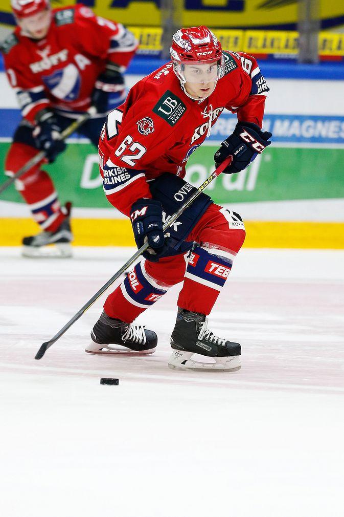 Robert Leino on hyökännyt viimeiset kolme kautta Helsingin IFK:ssa. Kuva: Jukka Rautio / Europhoto