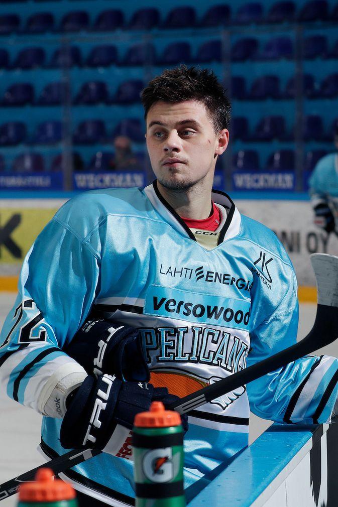 Pelicansin Vadim Pereskokov kuuluu Venäjän parhaisiin NHL:n ja KHL:n ulkopuolella pelaaviin nimiin. Kuva: Jukka Rautio / Europhoto