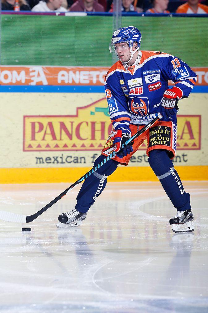Valtteri Kemiläinen on pistekeskiarvolla mitaten Tapparan tehokkain puolustaja. Kuva: Jukka Rautio / Europhoto