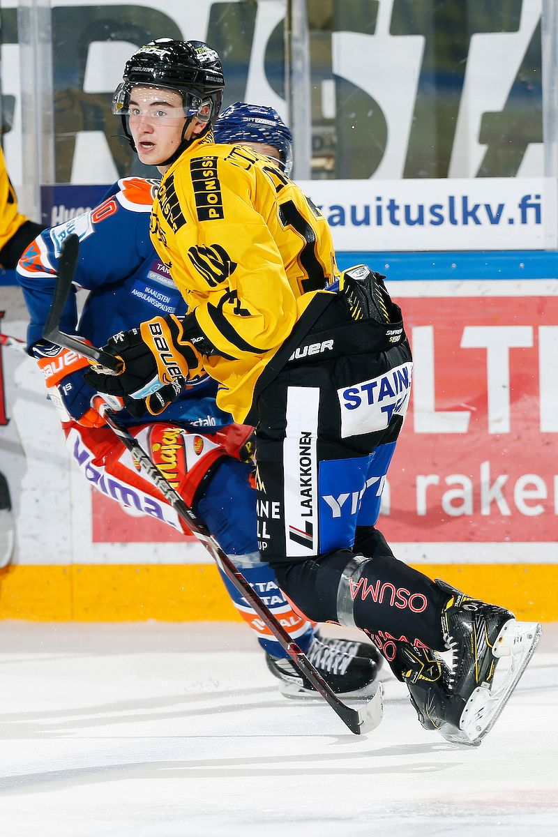 Alexandre Texier pelaa ensimmäistä kauttaan Suomessa. Kuva: Jukka Rautio / Europhoto
