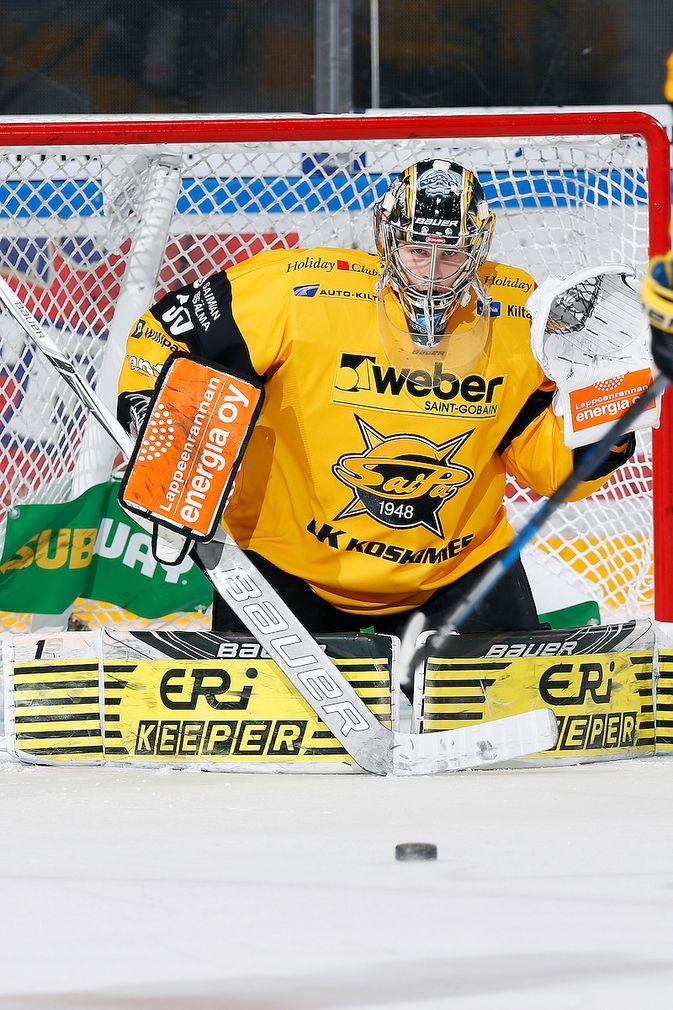 Niclas Westerholm sai peliaikaa viidessä kamppailussa päättyneellä liigakaudella. Kuva: Jukka Rautio / Europhoto