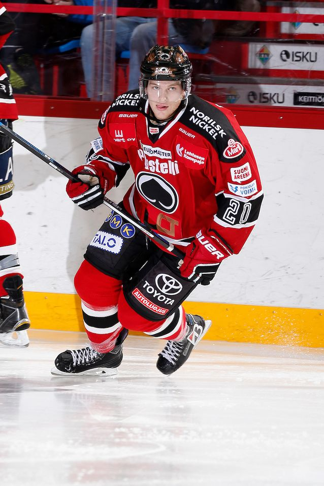Niko Ojamäki siirtyy ensimmäistä kertaa urallaan pois Porista. Kuva: Jukka Rautio / Europhoto
