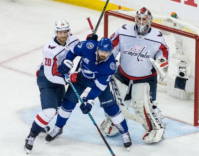 Tampa Bay Lightning ja Washington Capitals väsyttävät toisiaan vielä seiskapelissä.