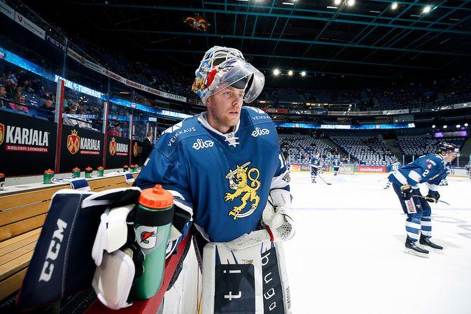 Mikko Koskine on tuttu näky leijonapaidassa. Kuva: Jukka Rautio / Europhoto