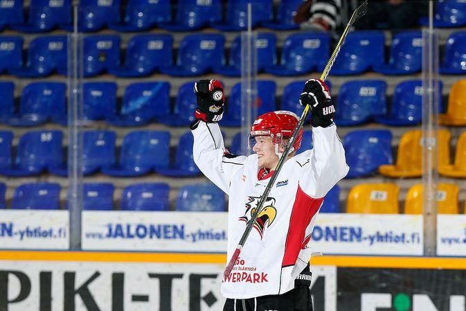 Joni Tuulola sai uralleen uutta nostettua siirryttyään Vaasan Sportiin täksi kaudeksi. Kuva: Jukka Rautio / Europhoto