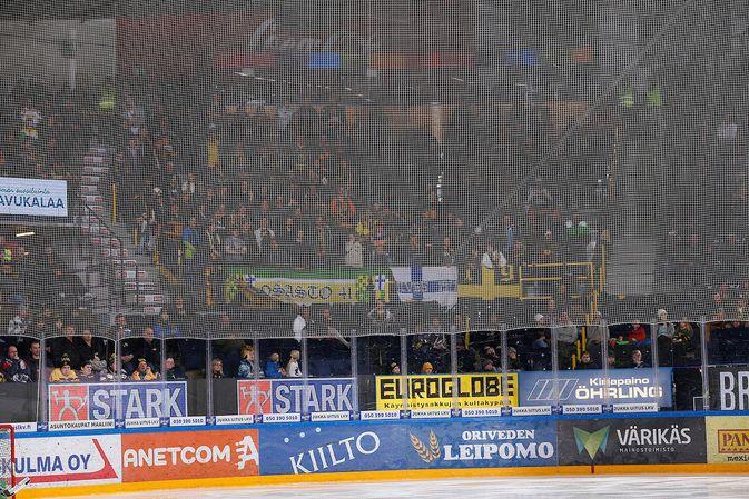 Ilves saattaa myydä Hakametsään loppuun runkosarjan viimeisessä kotipelissään. Kuva: Jukka Rautio / Europhoto