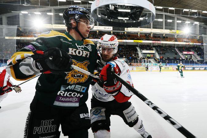 Ilves (kuvassa Michael Keränen) on suurien muutosten edessä. Kuva: Jukka Rautio / Europhoto