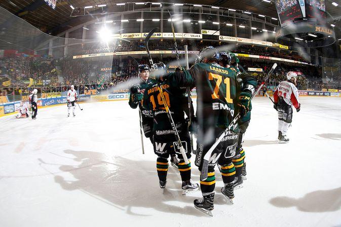 Ilves on palaamassa pudotuspelijoukkueeksi yhden välivuoden jälkeen. Kuva: Jukka Rautio / Europhoto